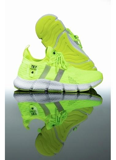 Letoon Te7 Erkek Spor Ayakkabı Yeşil